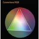 Bežný RGB systém - ponuka farieb